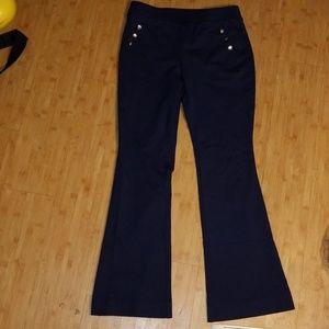 INC International Concepts flare sailor pants